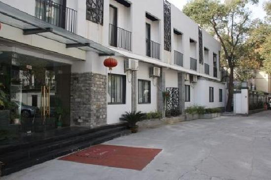 Hangzhou Jingshang International Youth Hostel: 门面