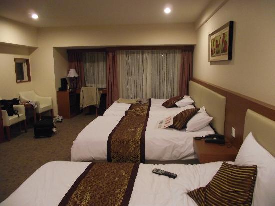 Fujisan garden hotel: 房间里面,很大吧。