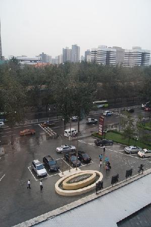 Ausotel Dayu Beijing: 窗外