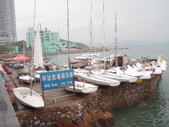 Guanhai Xiaozhu Seaview Resort : 帆船俱乐部