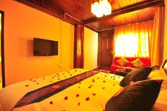 Ledao Hostel : 一楼大床房,带机麻,采光通风佳