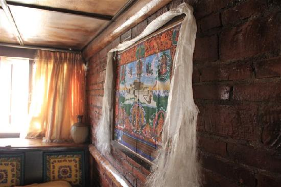 Zhangdi Simen Inn: 房间里的墙面