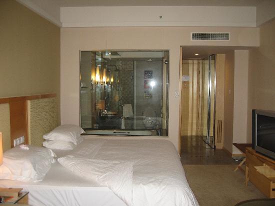 Haiyue Jianguo Hotel Weihai: 不错的卫生间