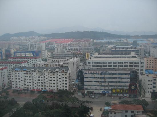 Haiyue Jianguo Hotel Weihai: 临窗远望