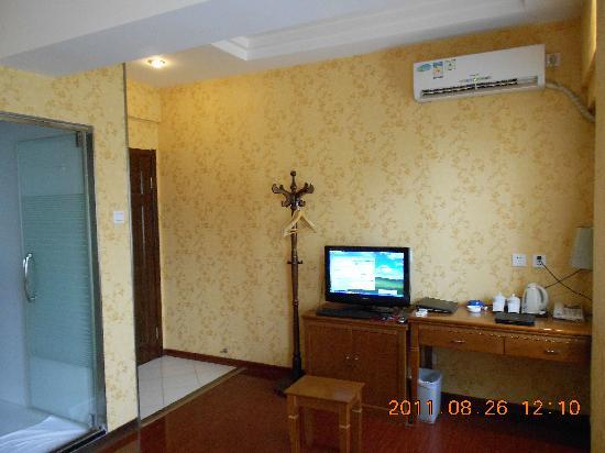 Golden Inn (Beijing Tonghuayuan) : 房间简洁舒适,卫生间很干净,通风很好