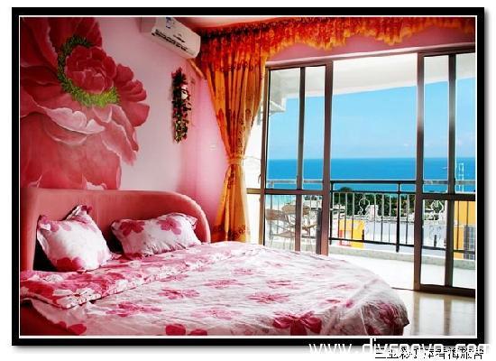 Xiaoshouyu Hostel : 玫瑰海1(阳台海景大床房)