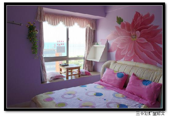 Xiaoshouyu Hostel : 浪漫海2(飘窗海景大床房)