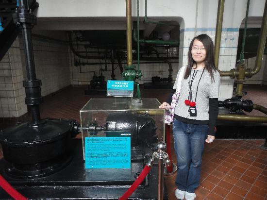 Qingdao Beer Museum: 啤酒厂里面