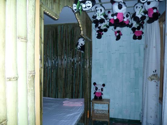 Panda Apartment: 卧室
