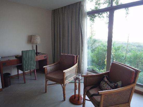 Nanshan Leisure Villas: 落地窗户,可以遥望观音