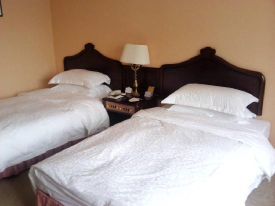 Horizon Hotel Yunnan : 老旧的酒店,硬件软件都达不到五星级水准
