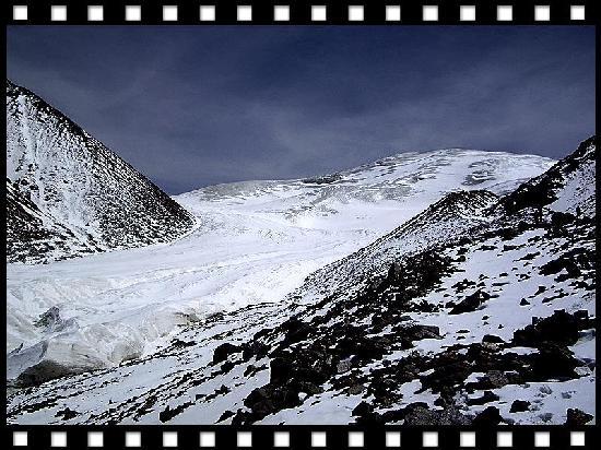 Qiyi Plateau Glacier : 七一冰川
