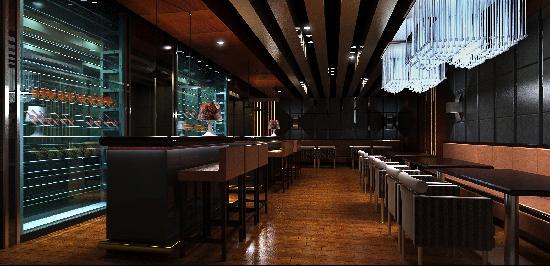 Binjiang Xinjing Business Hotel: 西餐厅