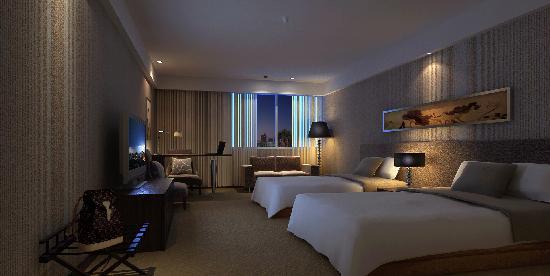 Binjiang Xinjing Business Hotel: 标间