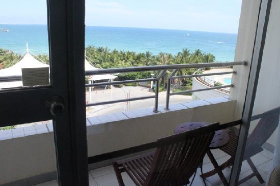 Sanya Pearl River Garden Hotel: 酒店阳台