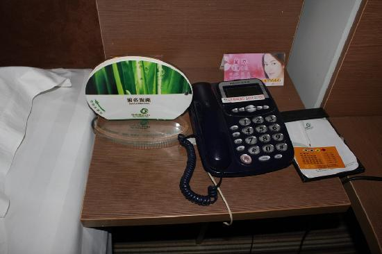 Ivy Holiday Inn: 电话