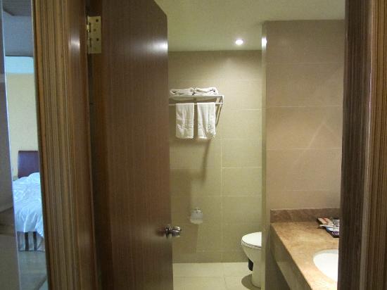 Nayang Lijing Hotel: 洗手间