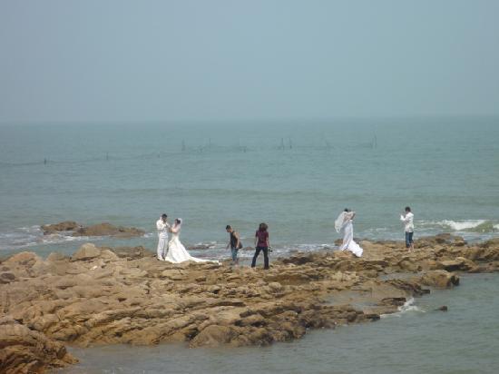 Xuri Guanhaiyuan Yujiale: 海边采风