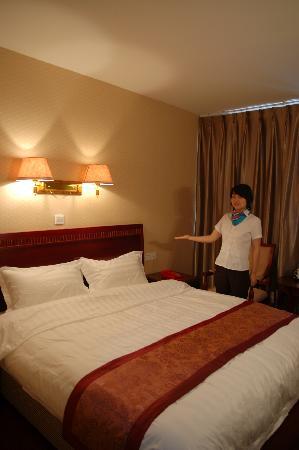 Jiuhe Jiayang Business Hotel: 大床房