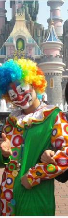 TAIAN Fantawild Adventure: 可爱的小丑