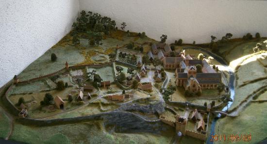 Mellifont Abbey: 原始模型
