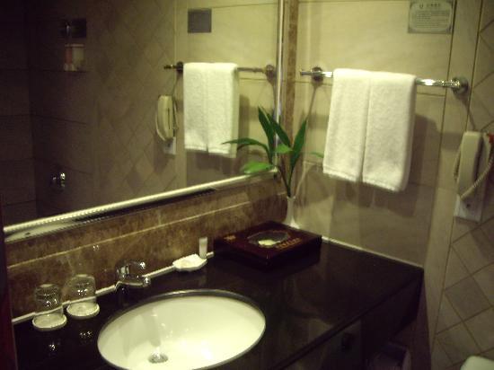 Wanhao Hotel: 卫生间