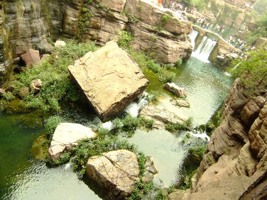 Yuntaishan Geopark: 这个就像变形金刚里的火种