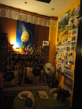 O-Lazy Hostel: 大厅也很有感觉的哦