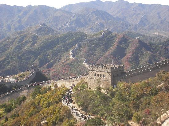 The Great Wall at Badaling: 气势磅礴
