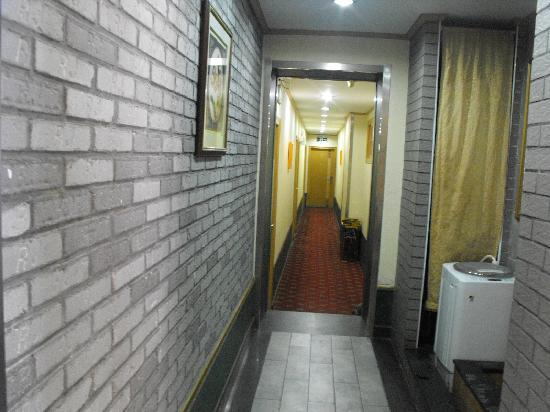 Xintianqiao Hotel: 这是免费用的全自动洗衣机