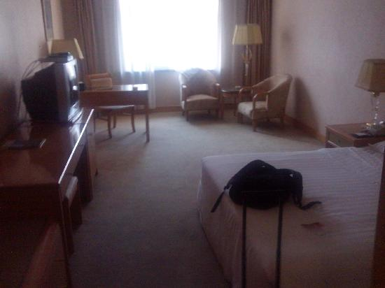 Eastern Air Hotel: 房间面积很大。