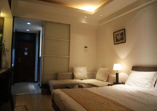 Kaibin Service Apartment (Jinling Wangfu): 豪华房