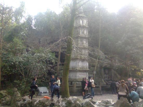 Lingyin Temple: 这叫什么塔来着?我也不清楚