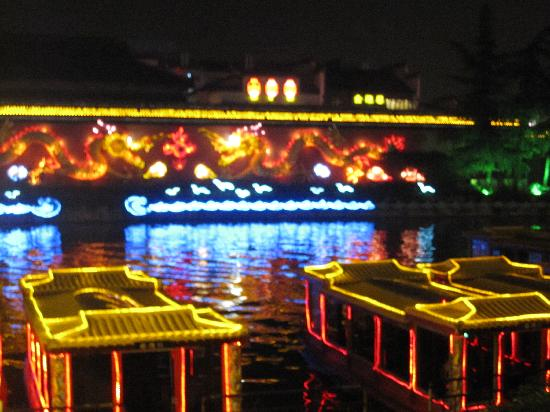 Confucian Temple Area (Fuzi Miao): 秦淮一夜
