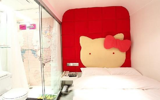 Fashion City Theme Concept Hotel Qingdao Chengshi Kongjian: 卡哇伊