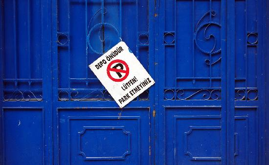 Historic Areas of Istanbul: No Parking