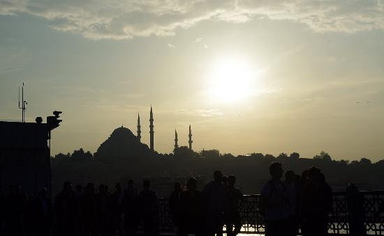 Historic Areas of Istanbul: Sunset