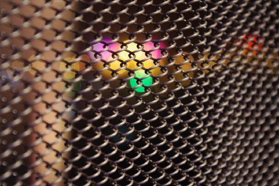 อลอฟท์ ปักกิ่ง ไห่เตี้ยน: Metal curtain