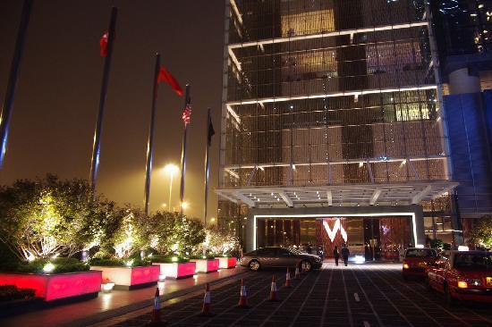 W hong kong hotel exterior picture of w hong kong hong for Design hotel hong kong