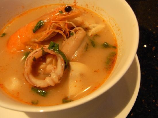 เดอะเวสติน ไทเป: westin taipei; tom yan gong soup