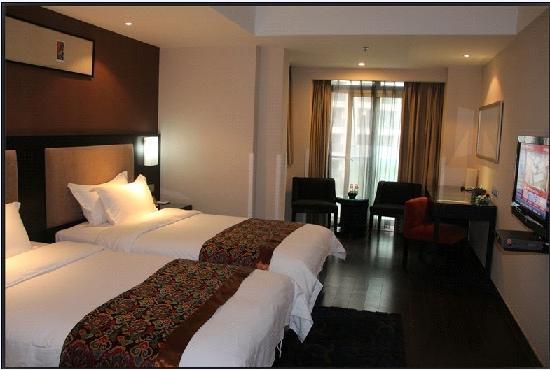 โรงแรมเช็งดูไนน์พอยท์อินเตอเนชั่นแนล: 普通标间