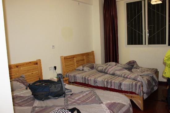 Longquan Inn: 床
