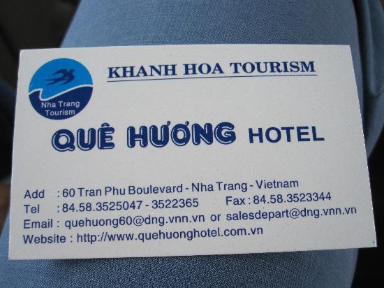 Que Huong Hotel 이미지