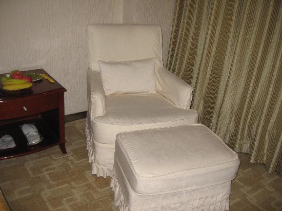 Xizhimen Guest House: 休息椅