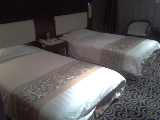 Zhengfu Hotel: 开夜灯下的标间