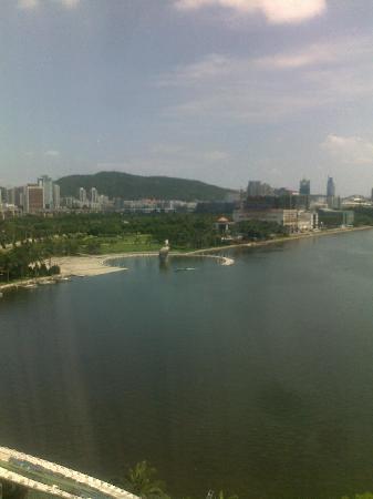 Bailuzhou Lake View Hotel: 从房间看出去的湖景