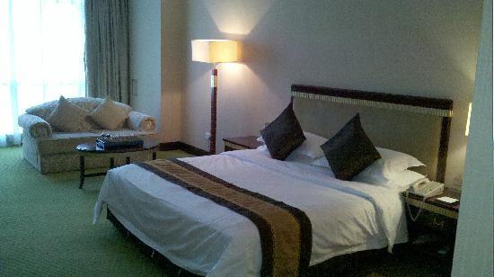 Nile Villa International Hotel : 大床