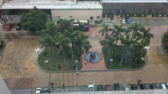 Nile Villa International Hotel : 酒店外的景色
