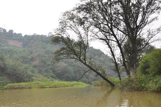 Jingyugou Scenic Resort, Xi'an: 湖景