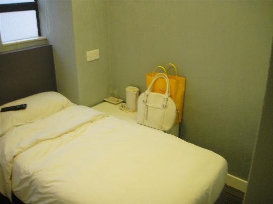 Goodrich Hotel: 床很软,很舒服,也很干净